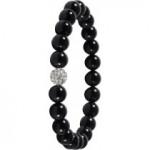 Shamballa Armband mit schwarzem Onyx